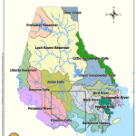 Baltimore County Watersheds and Tidal Segments Map